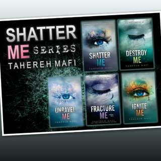 Shatter me ebook seriesby Tahereh Mafi