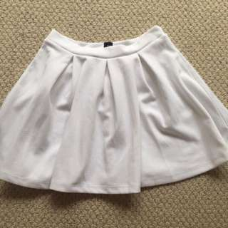 Small White Skirt