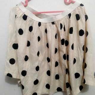 Polkadot Skirt HnM