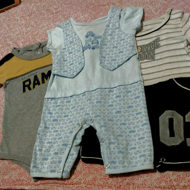REPRICED 3pcs. Branded Baby Onesie