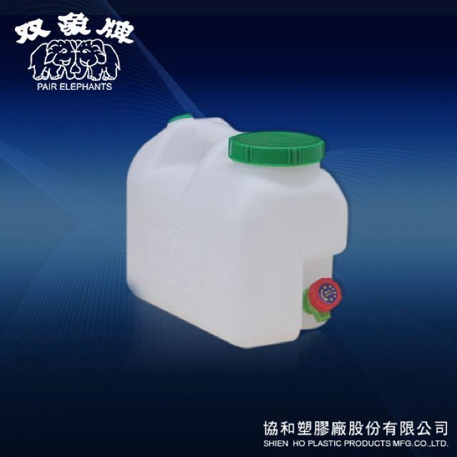 《上禾屋》雙象牌 礦泉水桶10L/大口桶/手提水桶/儲水桶/水缸/塑膠桶