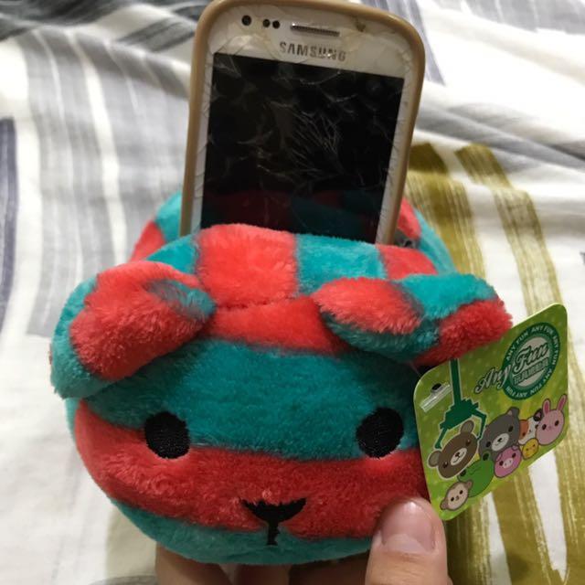 紅綠熊 可放手機📱