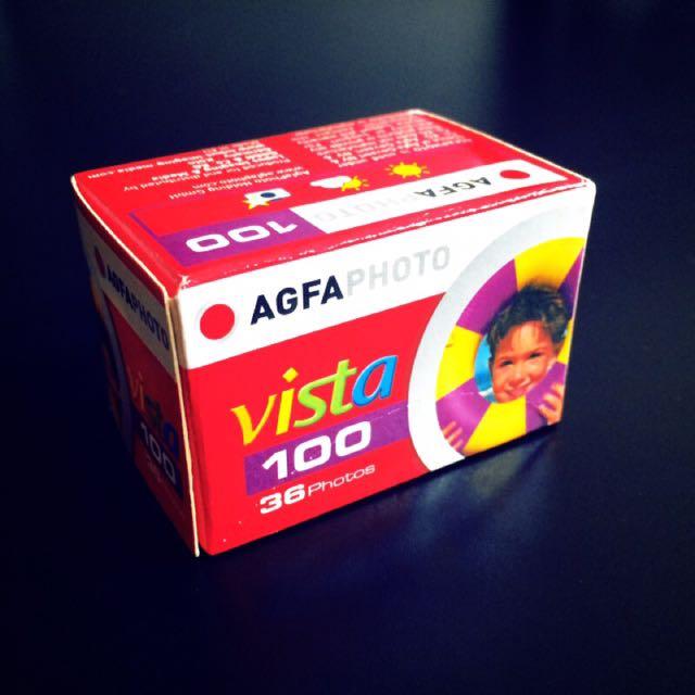 過期底片 AGFA VISTA 100