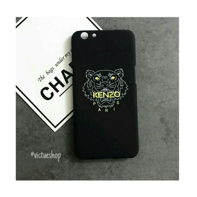 buy popular 7fe12 9ae51 [ Pre-Order ], KENZO Phone Case, Black // Pink, Phone Model :, IPhone 5 /  5s / se, IPhone 6 / 6s, IPhone 6 Plus / 6s Plus, IPhone 7 / 7Plus, OPPO F1  / ...