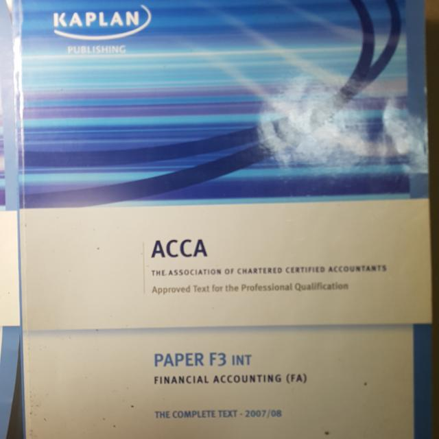 ACCA F3 TEXT AND EXAM KIT
