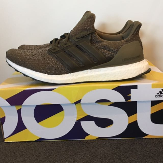 Adidas Ultra Boost 3.0 Trace Olive US 11.5/ UK 11 (New)