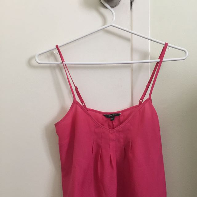 Aritzia Summer Pink Tank Top XXS