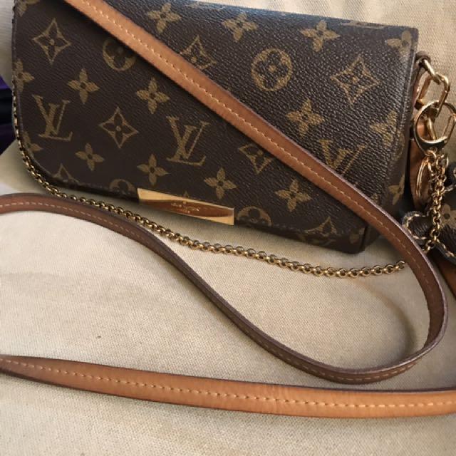 RUSH sale Auth Louis Vuitton Favorite Pm