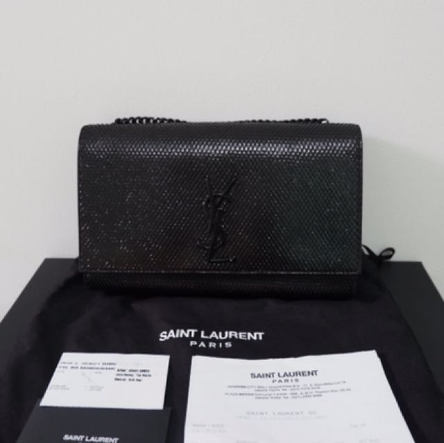 Authentic YSL Saint Laurent Medium Monogram