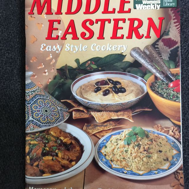 AWW Middle Eastern Cookery
