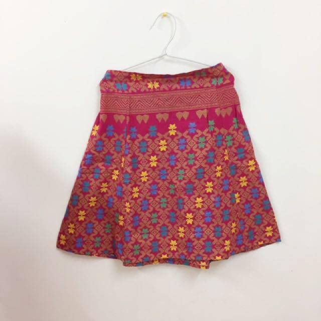 Batik Songket Skirt A Line