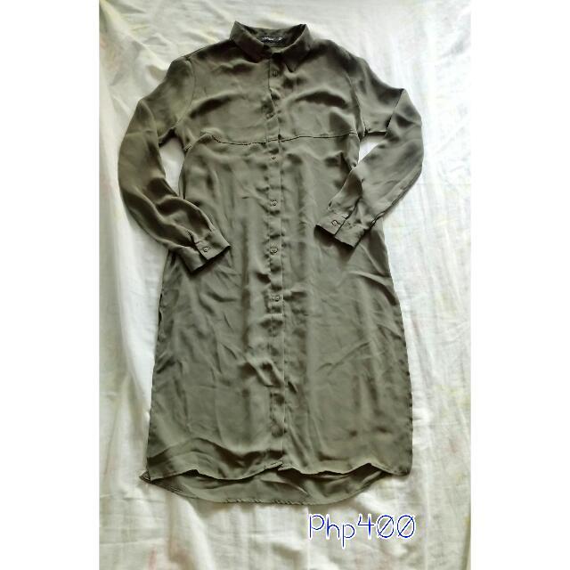 Bershka Polo Dress