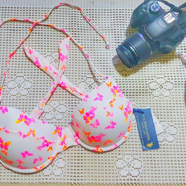 Bikini Top Butterflies XL
