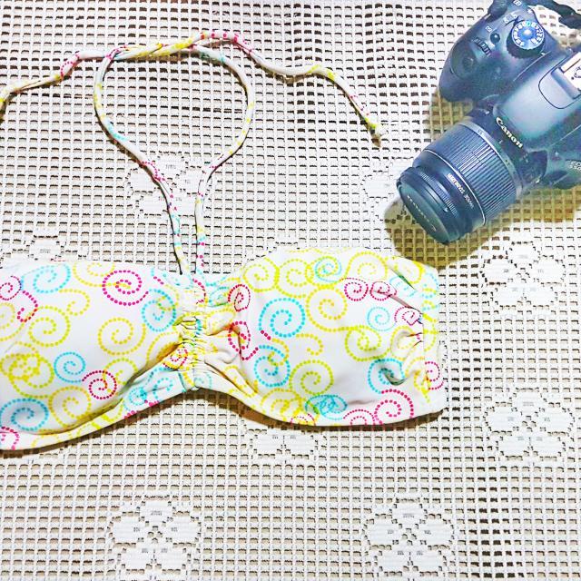 Bikini Top Yellow M
