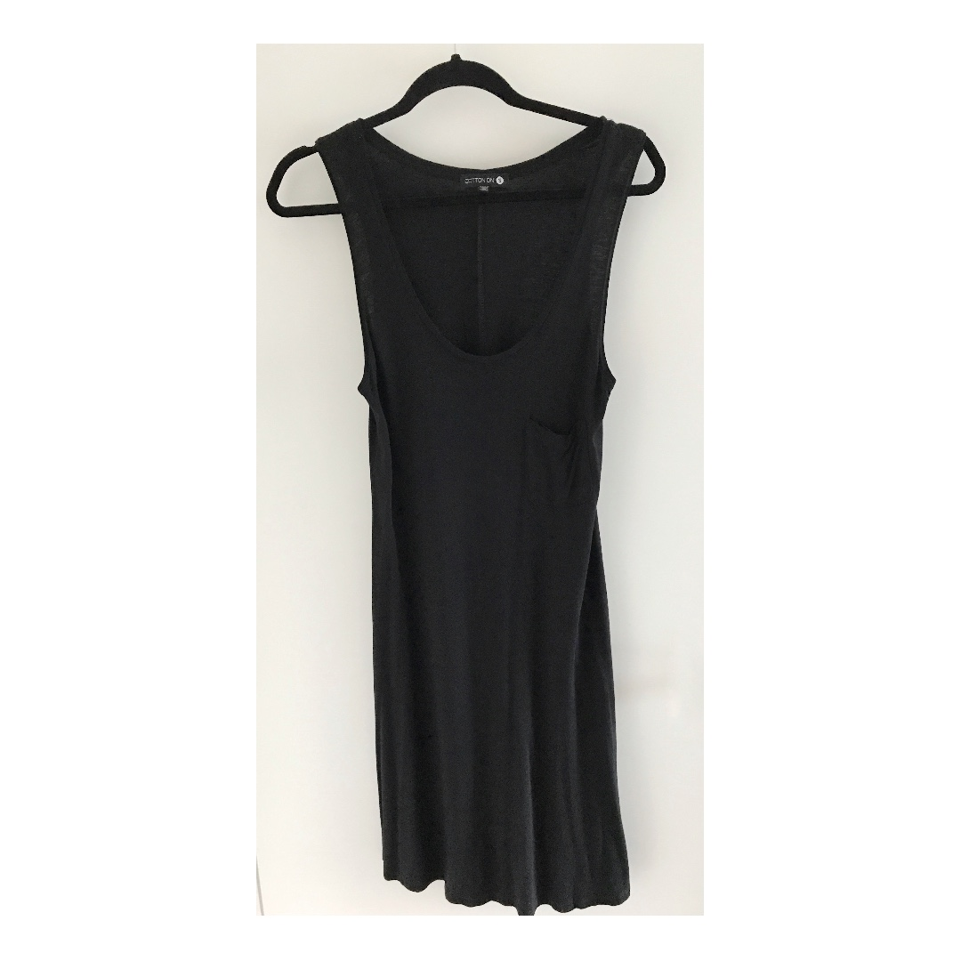 Black COTTON ON jersey dress