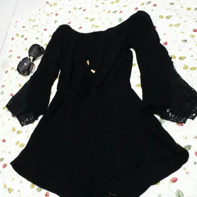 Black Fashion Romper