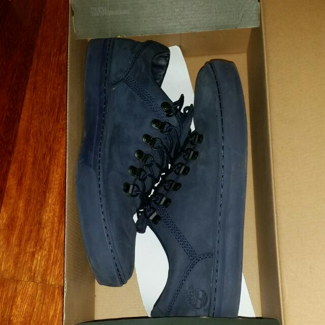 blue timberlands lows