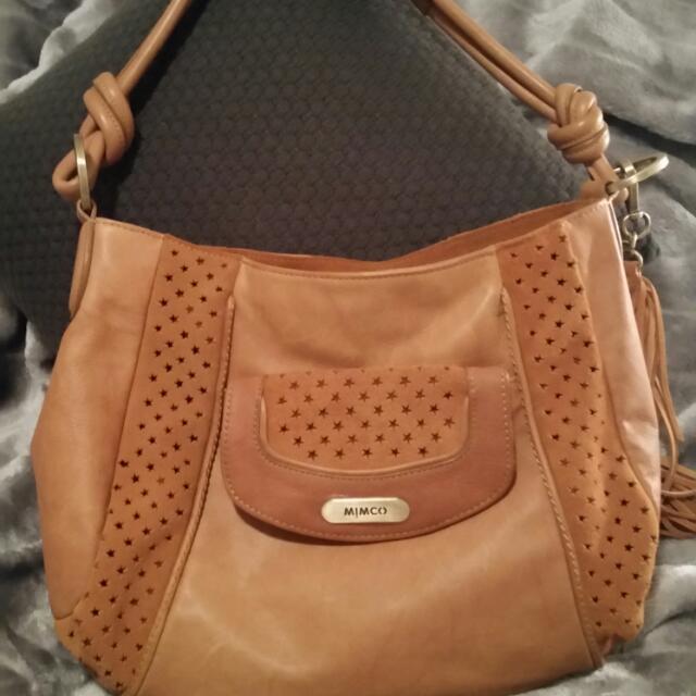 🏵BNWOT Mimco Trapezo Handbag