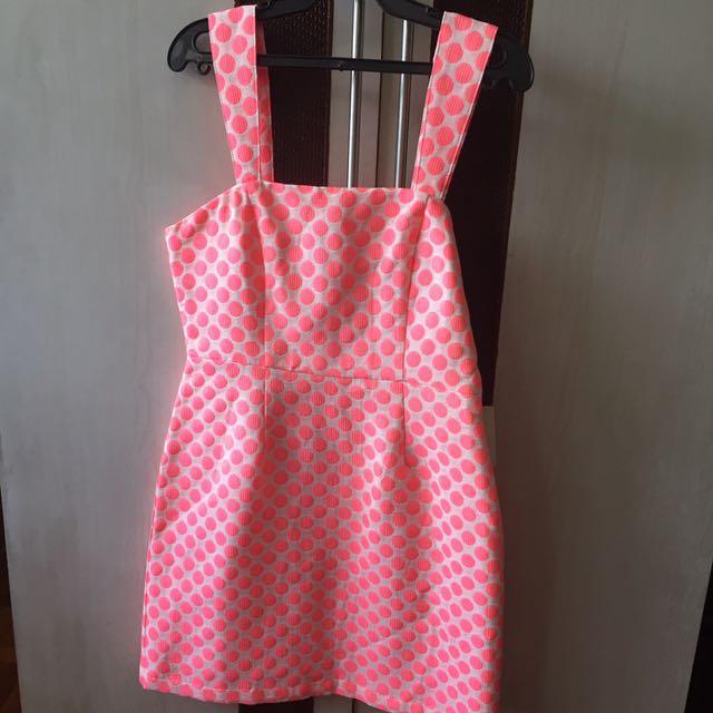 BNWT Forever 21 Polkadot Dress