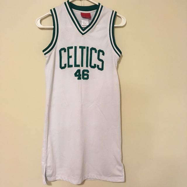 Boston Celtics Jersey Dress #46