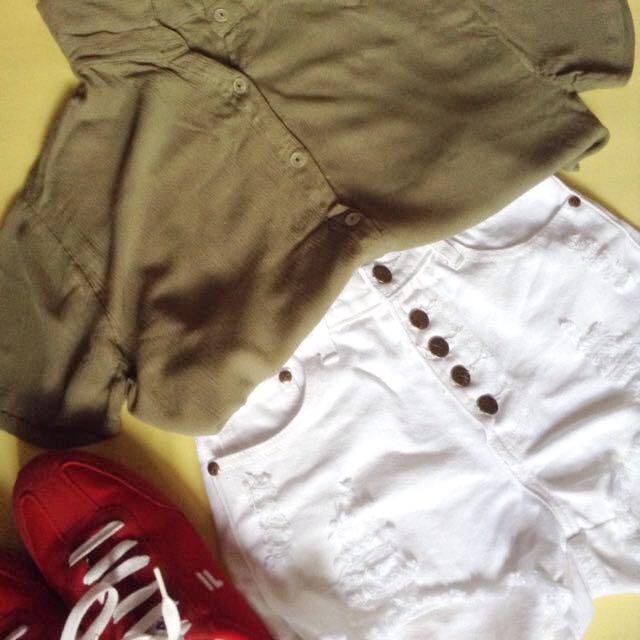 Brand New High Waist Shorts