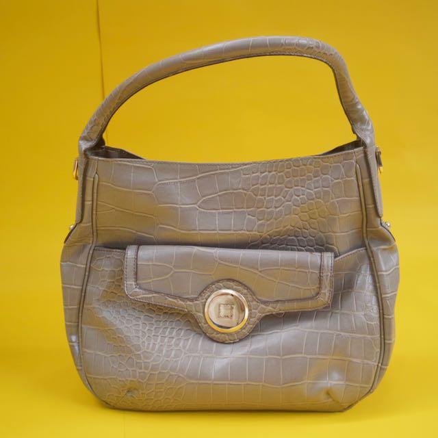 Brand New Liz Claiborne Gray Bag