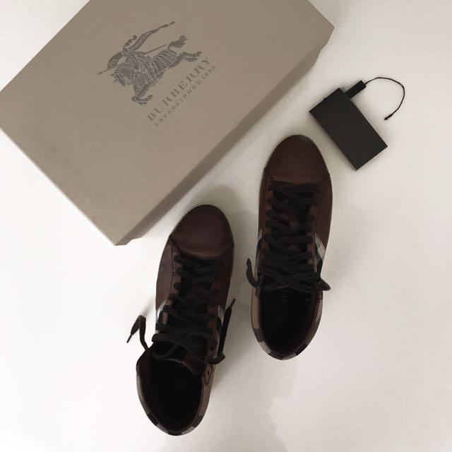 Burberry High Top Sneaker