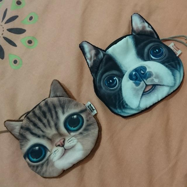Cat/dog Coin Purse