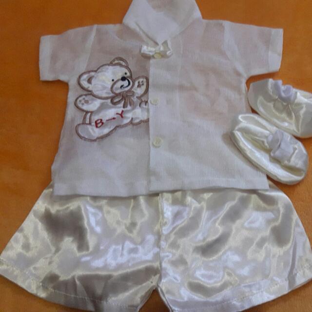 christening set baby boy 6 to 9 months