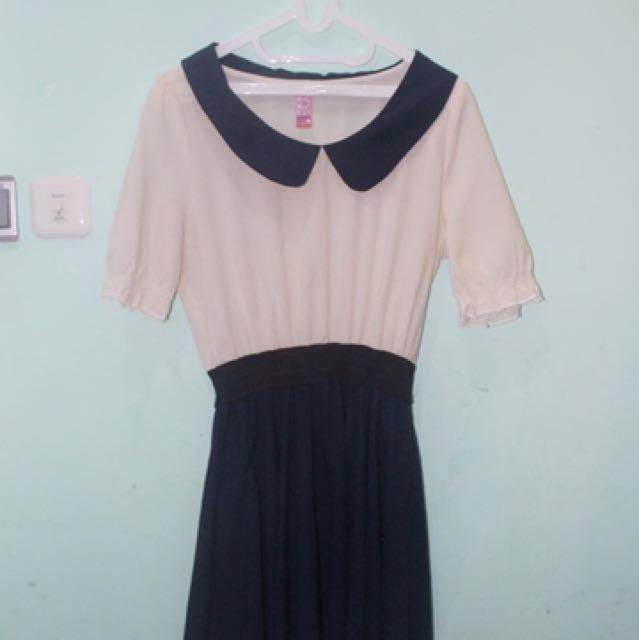 Collar Dress - Ryu Myu Myu