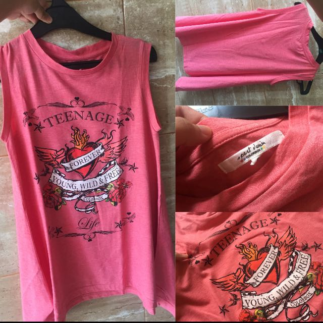 COLOR BOX PINK TANK