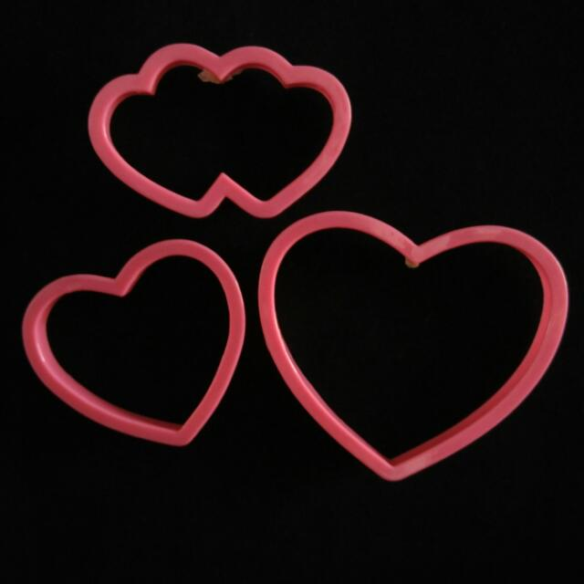 Cookie, Dough, Fondant Cutters from US (Plain Heart design)