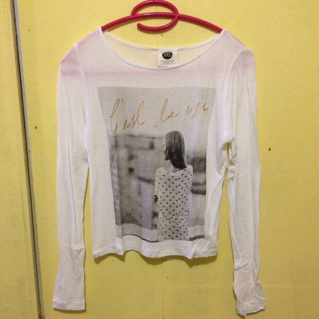 Cotton On Crop Long sleeves (XXS)