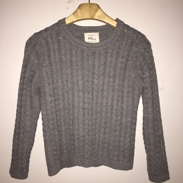 Cotton on pleated sweater