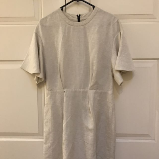 Country Road Size 10 Cream Work Dress