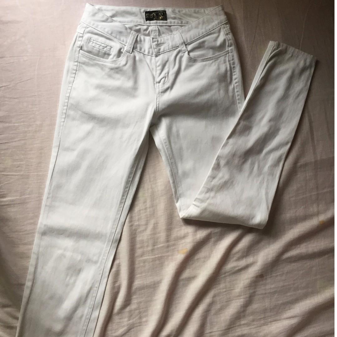 Crissa White Jeans