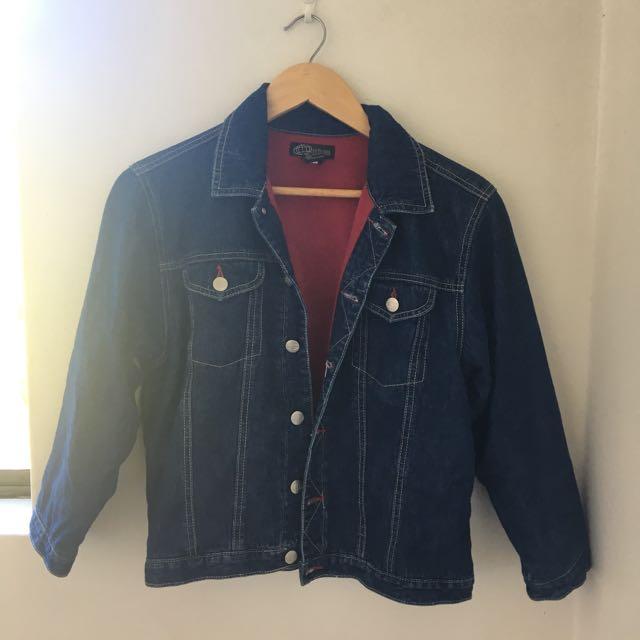 Denim Jacket (Fleece Lined)