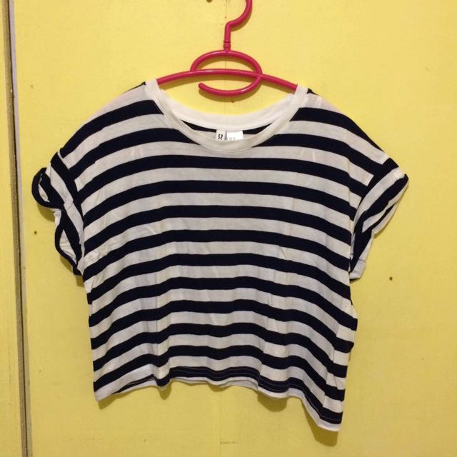 Divided By H&M Loose Crop Top (extra small)