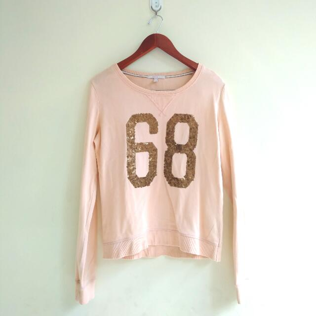 ESPRIT PEACH SWEATER