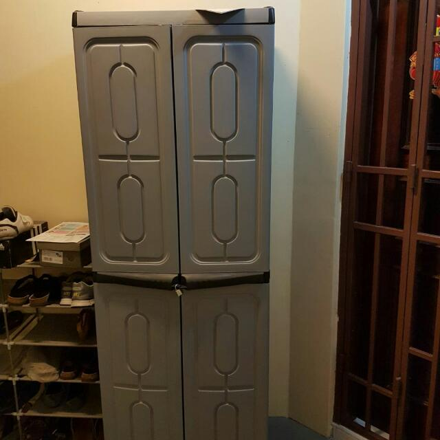 photo photo ... & Free Delivery Plastic Cabinet Full Height Outdoor Storage ...