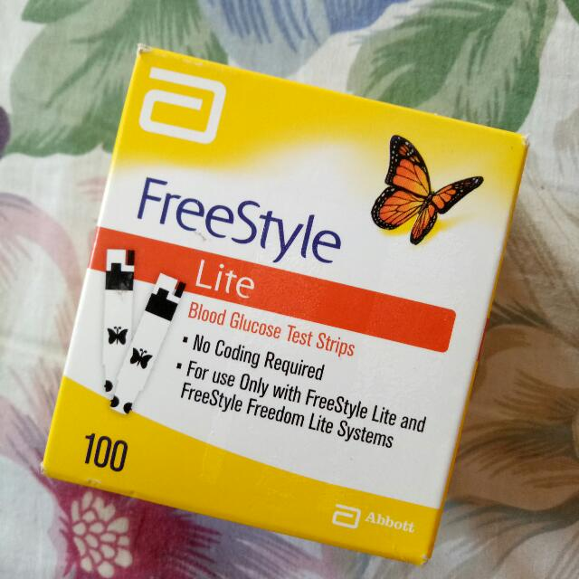 Freestyle lite blood glucose test strips preloved health beauty photo photo photo photo aloadofball Image collections