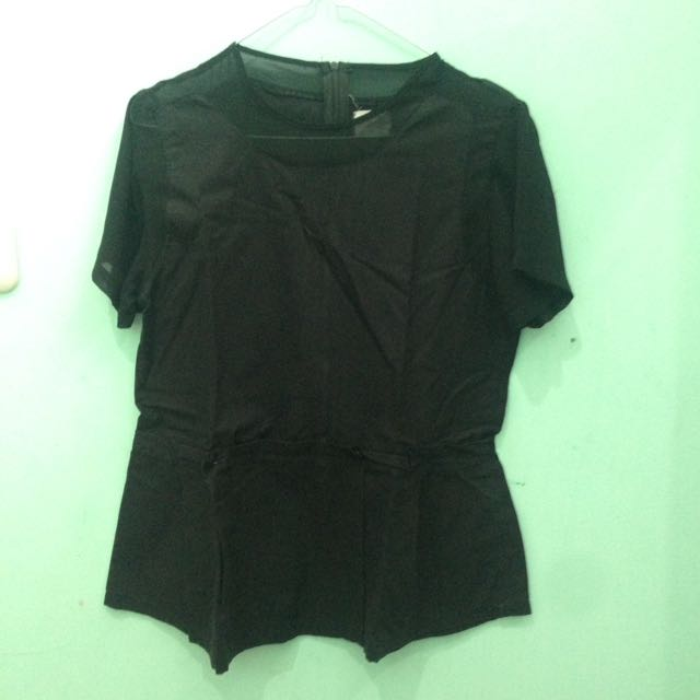 gaudi black blouse