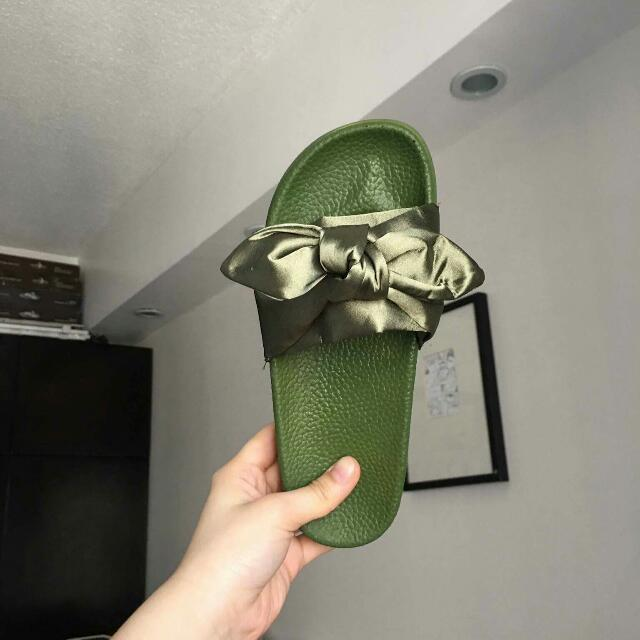 Green Slippers