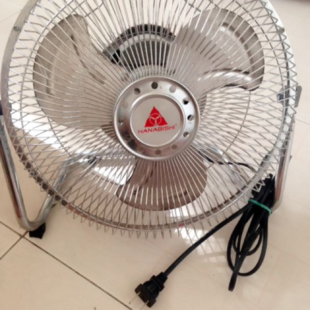 Hanabishi Mini Desk Fan On Carousell