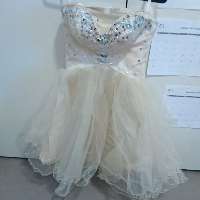 Hand Made Prom Dress Size 6-8