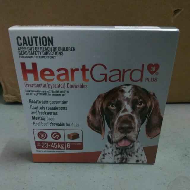 HeartGard Plus 23-45kg 6 Chewables