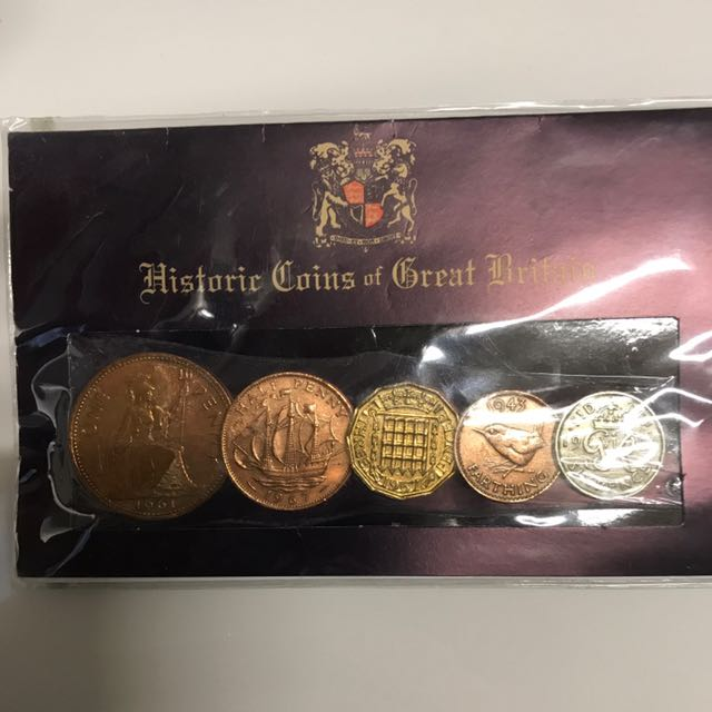 Historic Coins Of Great Britain - Coin Collector - Brand New In Pack