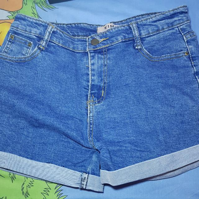 Hotpants Blue Jeans by KIM