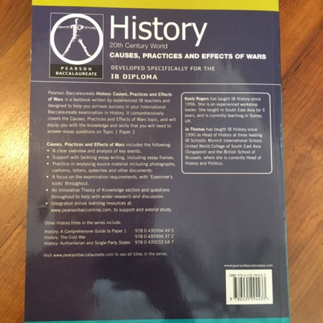 IB History Textbook, Books & Stationery, Textbooks on Carousell