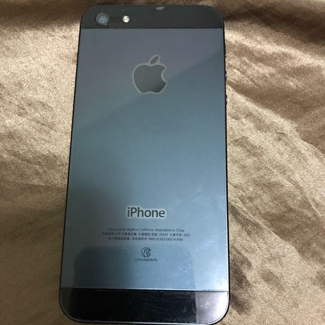 iPhone 5 16G 黑色